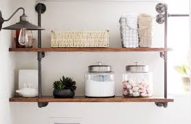 Laundry Room Shelving by Diy Industrial Pipe Shelving Chris Loves Julia