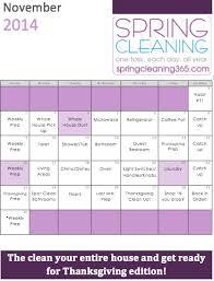 november cleaning 365 calendar i of clean organized