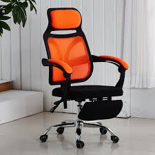 d24 cool reclining office computer chair with leg rest and