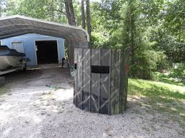 ground blind crossbow friendly