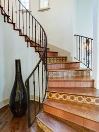 porcelanosa ceramic tile staircase houzz