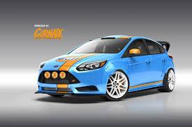 gulf racing mustang ford u0027s sema fleet of custom f series fiesta focus fusion and