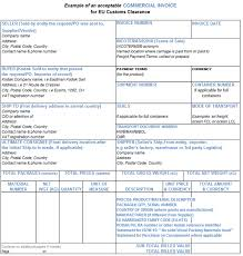example commercial invoice commercial invoice preparation eamer kodak