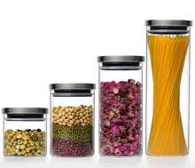 popular glass kitchen canister buy cheap glass kitchen canister