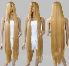 rapunzels hair extensions 130cm 51 rapunzel tangled light golden