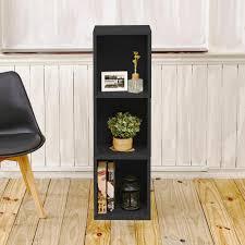 3 shelf narrow bookcase way basics trois 3 shelf narrow zboard 11 2 x 13 4 x 44 8 tool free