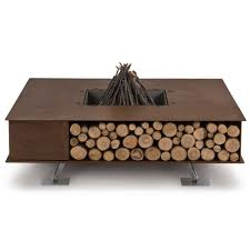 ak47 design toast wooden wood burning outdoor fire pit houseology