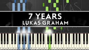 Piano Covers Sheet Music by Lukas Graham 7 Years Piano Cover Tutorial With Sheet Music