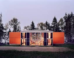 12 container house in blue hill maine idea sgn by adam kalkin 2