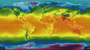 World Temperatures Map by Global Temperatures April 2016 Youtube