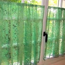 Lace Cafe Curtains Kitchen by Shop French Lace Curtain On Wanelo