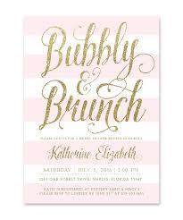 brunch bridal shower invitations bubbly brunch bridal shower invitation pink white stripes