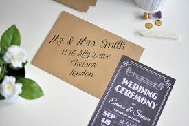 Wedding Invitation Card Diy How To Make Affordable Chalkboard Wedding Invitations Ej Style