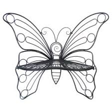 butterfly benches on hayneedle butterfly garden bench