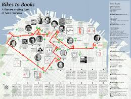 San Francisco Traffic Map by Bikes To Books Map Burrito Justice