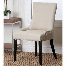 linen dining chair beige linen dining chairs wayfair