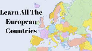 European Countries Map Learn All The European Countries Youtube
