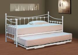Daybed With Trundle And Mattress Outstanding Metal Daybed With Trundle And Mattresses Versailles Or