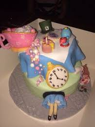 mad hatter tea party birthday cake party cakes mad hatter tea