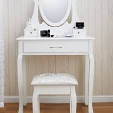 new amalfi agtc0009 dressing table mirror stool set shabby chic