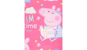 Peppa Pig Toddler Duvet Cover Peppa Pig Dreams Single Duvet Set Home U0026 Garden George At Asda