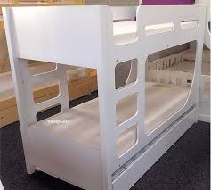 Bunk Bed With Trundle White Bunk Bed With Trundle Lolly Guest Bed Bunk Beds By