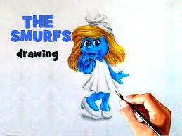 draw smurf smurfs 2