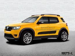 renault jeep 2017 renault hbc renault kwid based compact suv rendering