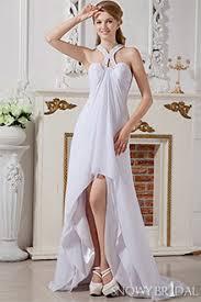 high low beach wedding dresses snowybridal com