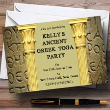 personalised halloween party invitations greek party invitations image collections wedding and party