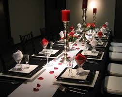 Valentines Day Table Decor Beauty Red Color Table Decorations For Valentines Day Celebration