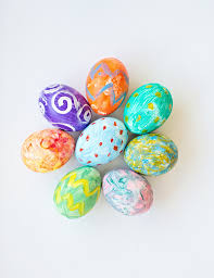 painted easter eggs 17 cool easter egg decorating ideas all about color