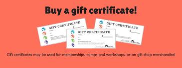 gift certificates gilbert house children s museum gift certificates to gilbert