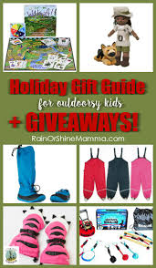 holiday gift guide for outdoorsy kids giveaways rain or shine