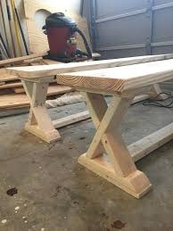 simple wooden bench plans free shooting bench plans free bench