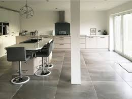 Concrete Kitchen Cabinets Kitchen Floor Brown Stained Concrete Kitchen Floor Finish Light