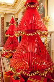 david stark u0027s amazing ribbon trees decorated with scallops of