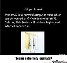 System 32 Meme - rmx system32 by schellcunn meme center