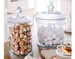 bocaux decoration cuisine pot cylindrique en verre becquet
