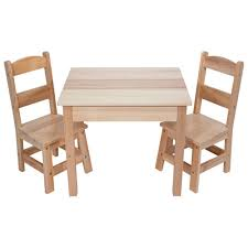 wooden set and doug wooden table and chairs set learning