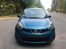 blue nissan micra 2015 nissan micra sv coupa auto sales