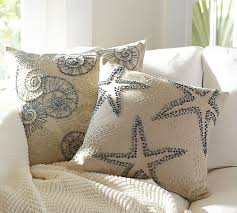 knotted embroidered pillow covers pottery barn