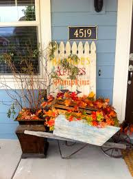 outdoor fall decorations fall ideas for the front of your house remodelaholic 25 best