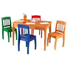 kidkraft avalon table and chair set white kidkraft avalon table and chair set natural 26621 axinmobi site