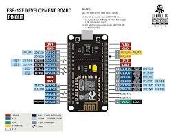 Esp Wiring Diagrams Acrobotic Esp8266 Esp 12e Development Board With Onboard Usb To