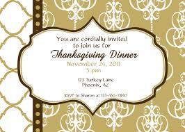 thanksgiving invitations ideas invitation for a dinner party disneyforever hd invitation card