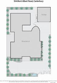 Canterbury Floor Plan by 154 Mont Albert Road Canterbury Vic 3126 Sold