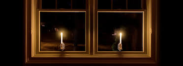 Window Candle Lights Touch Of Eco