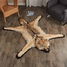 placing wolf rugs cougar rugs and more bear skin world