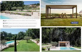 jardin paysager avec piscine réflexion paysage architecte paysagiste aix en provence